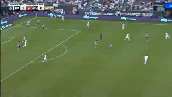 Así fue la pelea en la goleada del Atlético de Madrid ante Real Madrid.