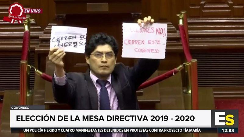 Así fue la votación de Rogelio Tucto.