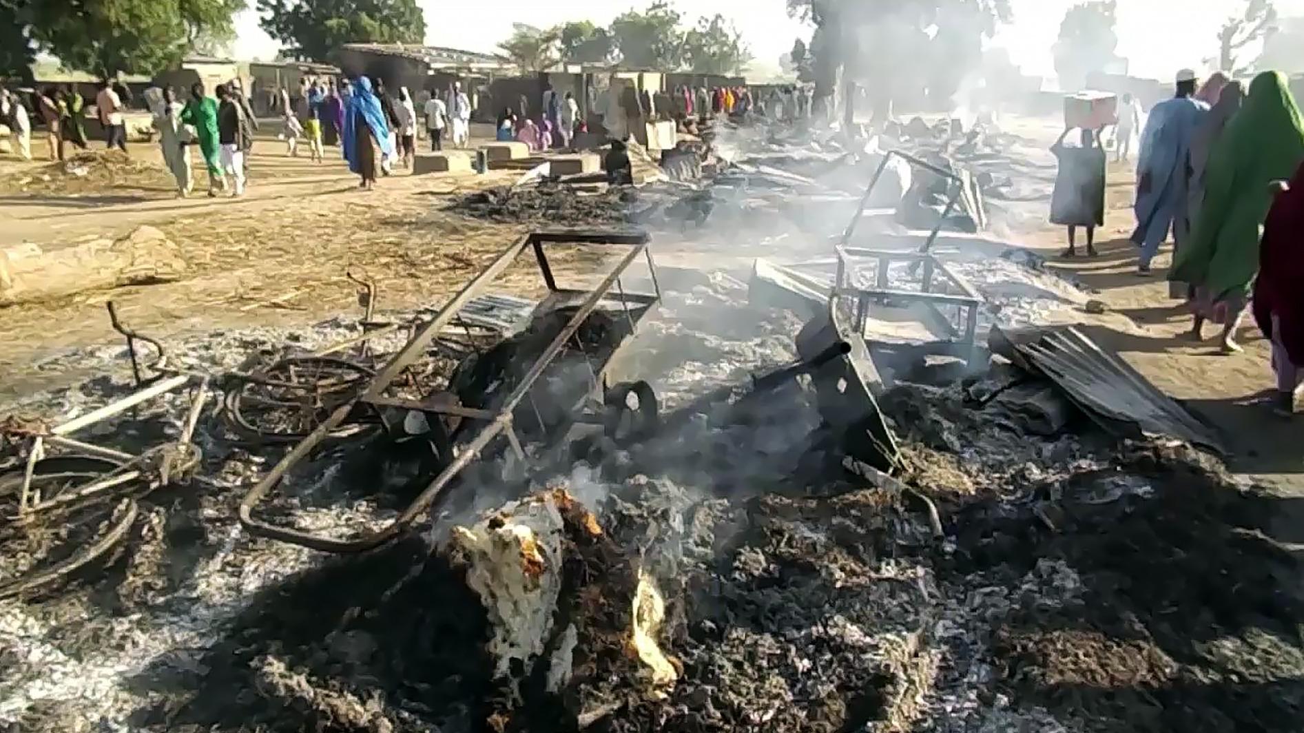 El hecho se registró durante un funeral en un pueblo cercano a la ciudad de Maiduguri (Nigeria).