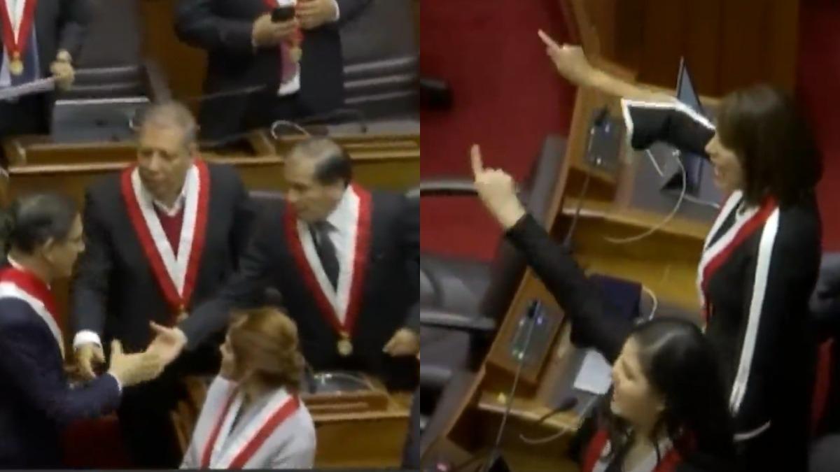 Martín Vizcarra abandonó el Congreso entre pifias y aplausos.