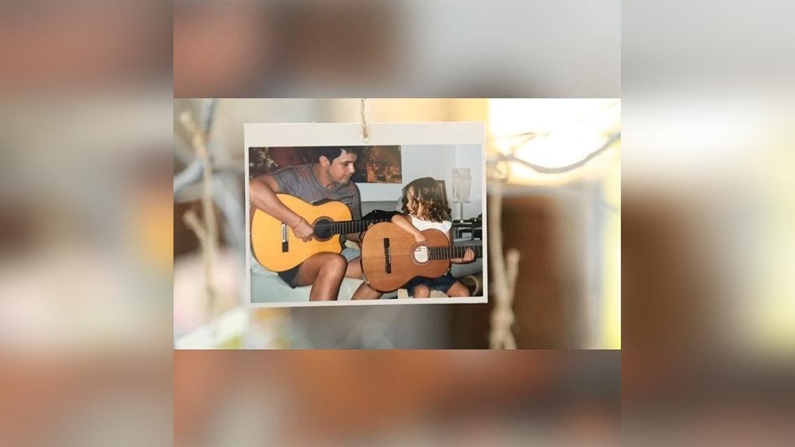 El tierno video compilatorio de Alejandro Sanz para su hija Manuela.