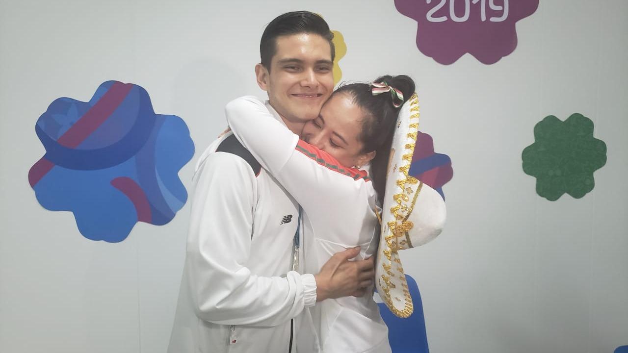 Hugo del Castillo y Ana Zulema Ibáñez.