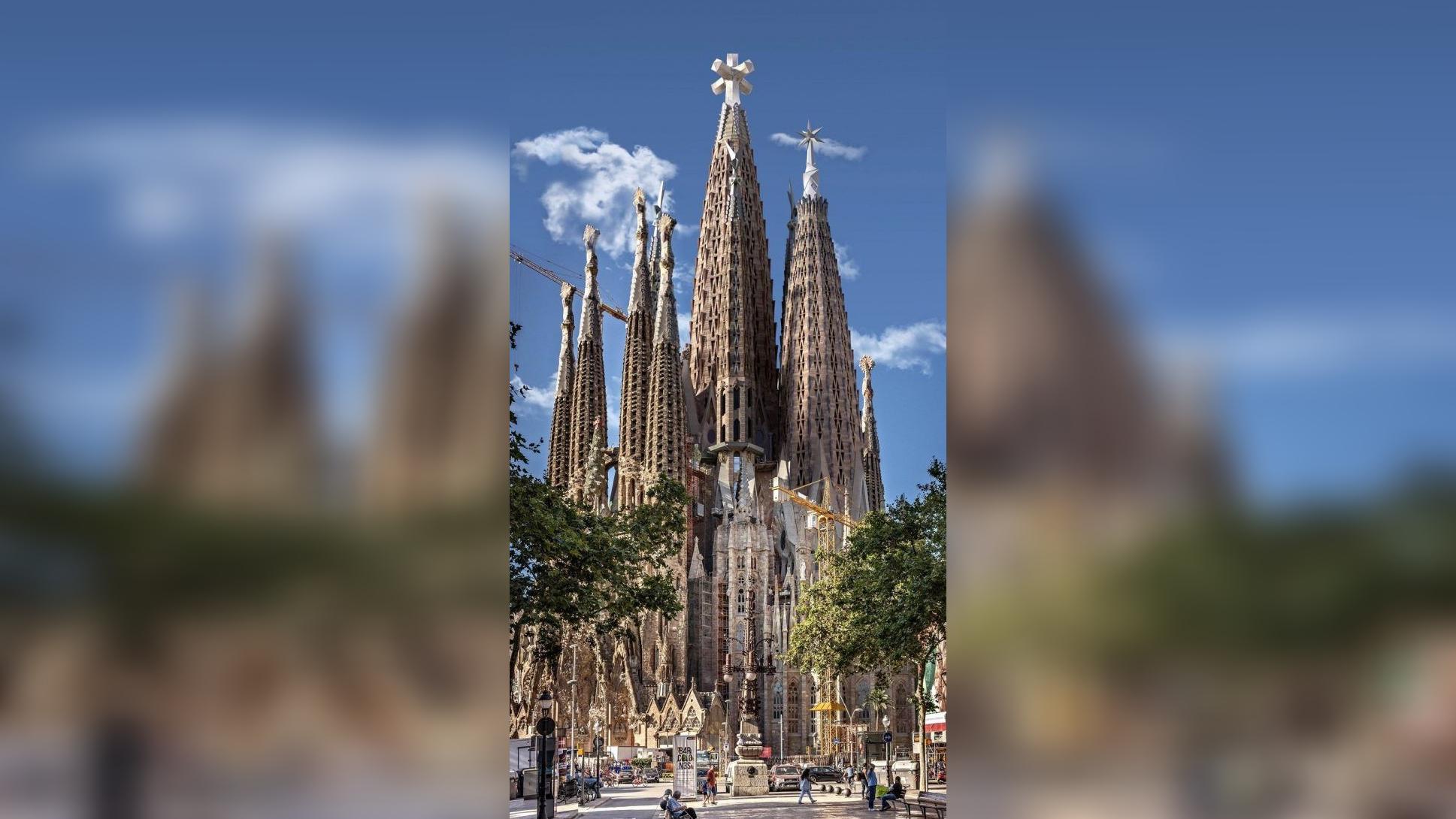 Se estima que la basílica de la Sagrada Familia esté terminada en veinte años más.
