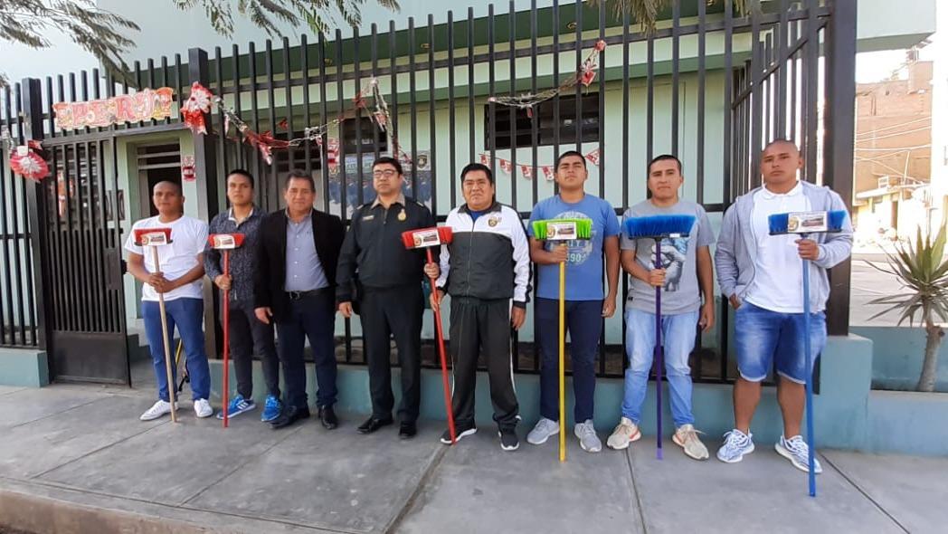 Así como Kevin Aguirre, otros seis jóvenes son ingresantes en la Escuela Técnico Superior de la Policía Nacional en Trujillo.