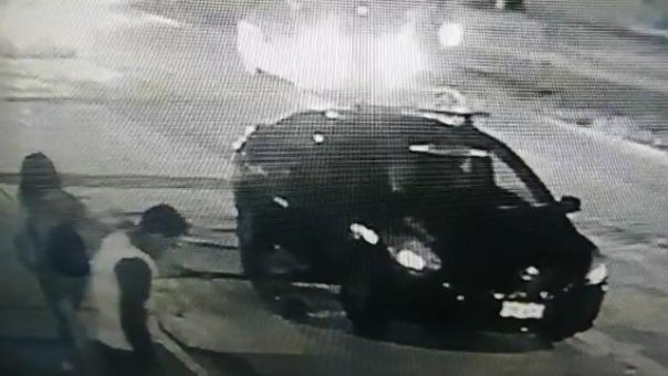 El vehículo era conducido por Jesús Enrique Quispe Sandoval.