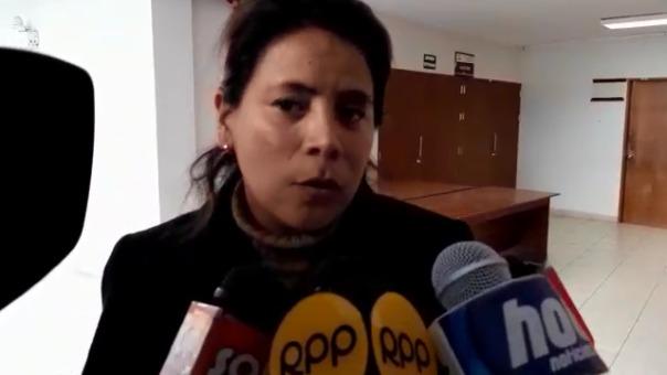 La fiscal adjunta provincial Carmen Lilian Namuche Reyes, de la 2° Fiscalía Provincial Penal Corporativa de Trujillo, sustentó el pedido de prisión preventiva.