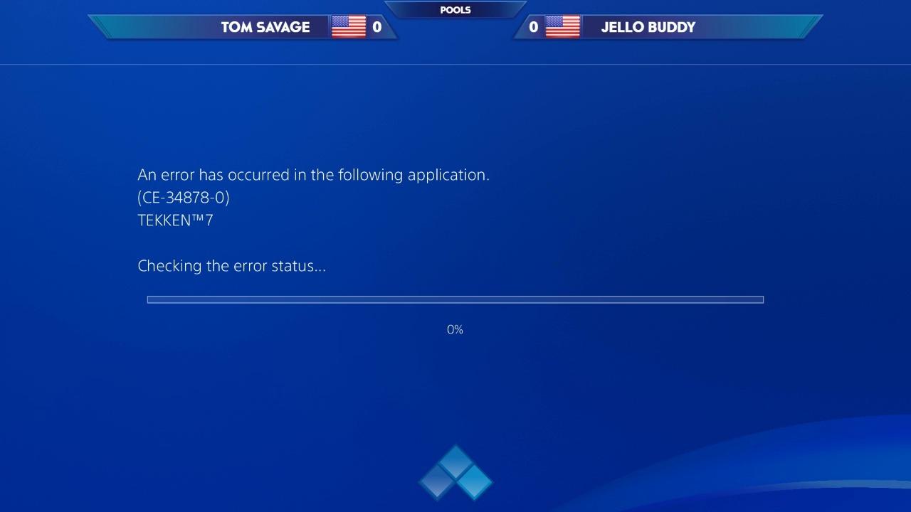 Error en la consola de Sony arruinó una emocionante partida de Tekken 7.