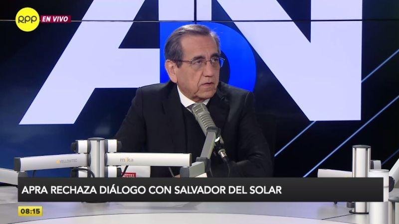 Jorge del Castillo estuvo esta mañana en Ampliación de Noticias.