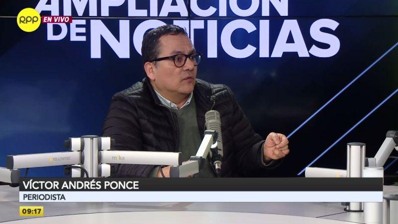 Víctor Andrés Ponce estuvo esta mañana en Ampliación de Noticias.