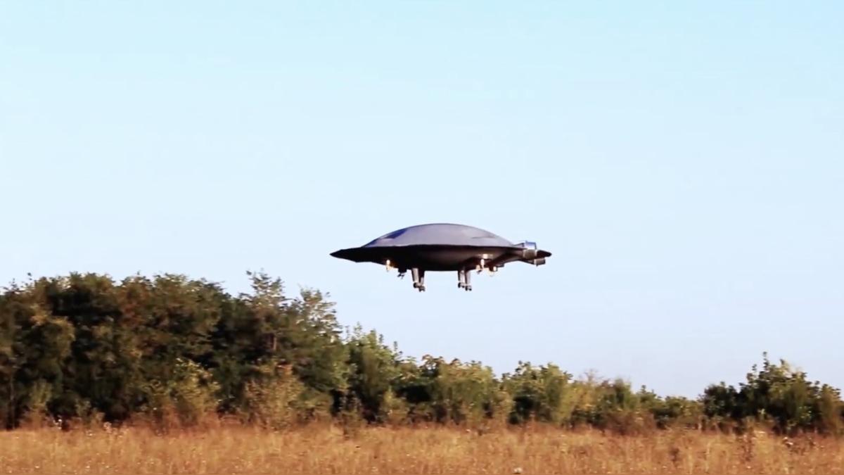 Este objeto volador no viene precisamente del espacio exterior.