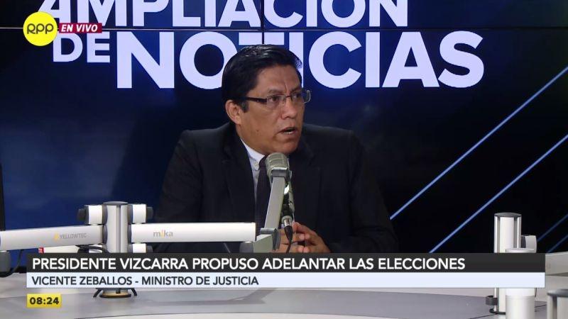 Vicente Zeballos estuvo esta mañana en Ampliación de Noticias.