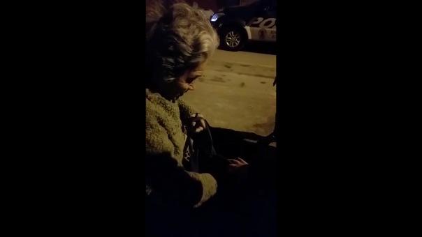 La anciana recuperó sus medicinas y dinero.