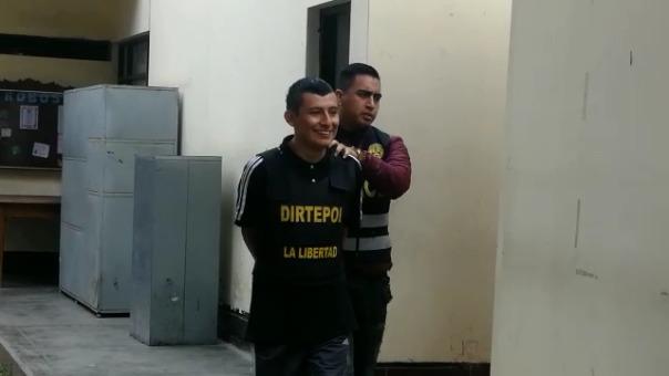 Los feroces delincuentes fueron capturados por la Policía Nacional.