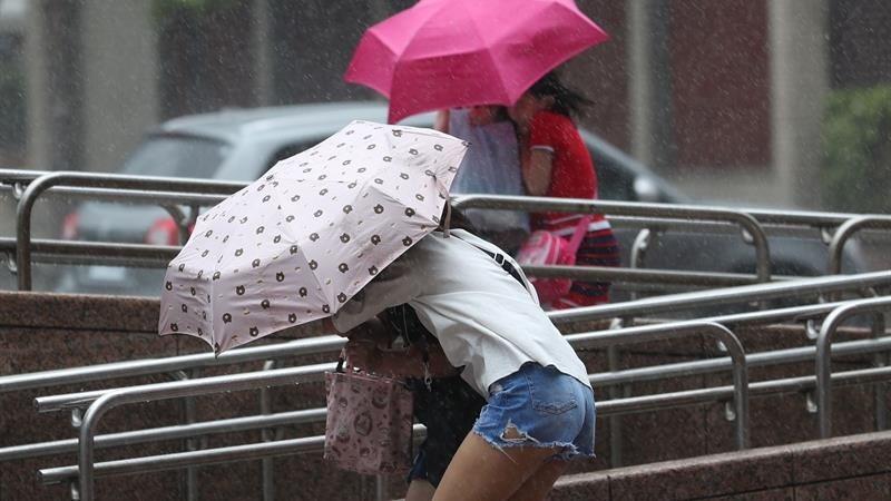 Este es el noveno tifón que azota China en el año.
