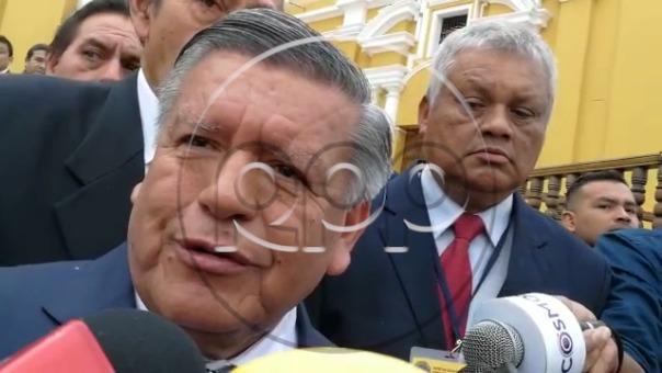 """""""Nadie se imaginó lo que iba a pasar ahora"""", dijo César Acuña sobre César Villanueva."""