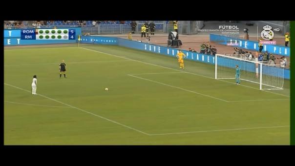 Este fue el penal que Marcelo no pudo convertir a favor del Real Madrid.