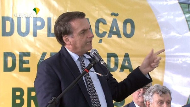 El presidente brasileño Jair Bolsonaro dijo que será un error del pueblo argentino votar por la izquierda.