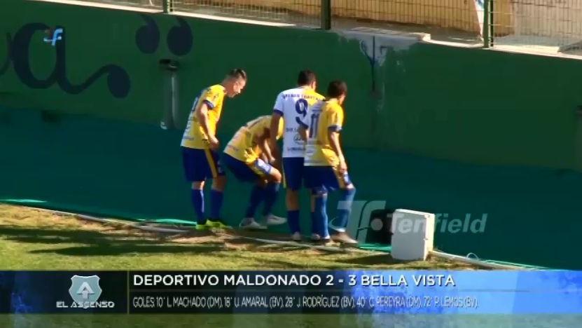 Depotivo Maldonado cayó 3-2 en casa ante Bella Vista.