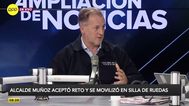 Jorge Muñoz estuvo esta mañana en Ampliación de Noticias.