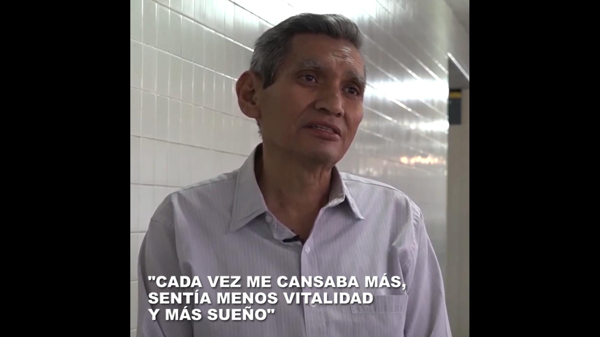 Conoce la historia de Miguel Lumbre, el paciente más longevo en recibir un trasplante en el Hospital Rebagliati.