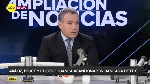 Salvador del Solar se pronunció sobre la renuncia de Aráoz, Bruce y Choquehuanca.