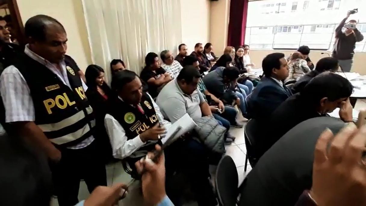 Los suboficiales permanecen en la carceleta del Poder Judicial
