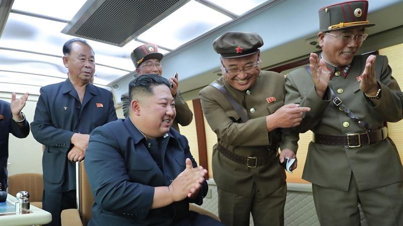 Este ha sido el sexto lanzamiento de este tipo que Corea del Norte realiza desde el 25 de julio.