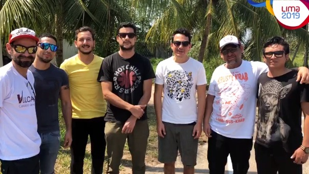 Bareto envió un saludo a todos sus seguidores en la previa a la inauguración de los Juegos Parapanamericanos 2019.