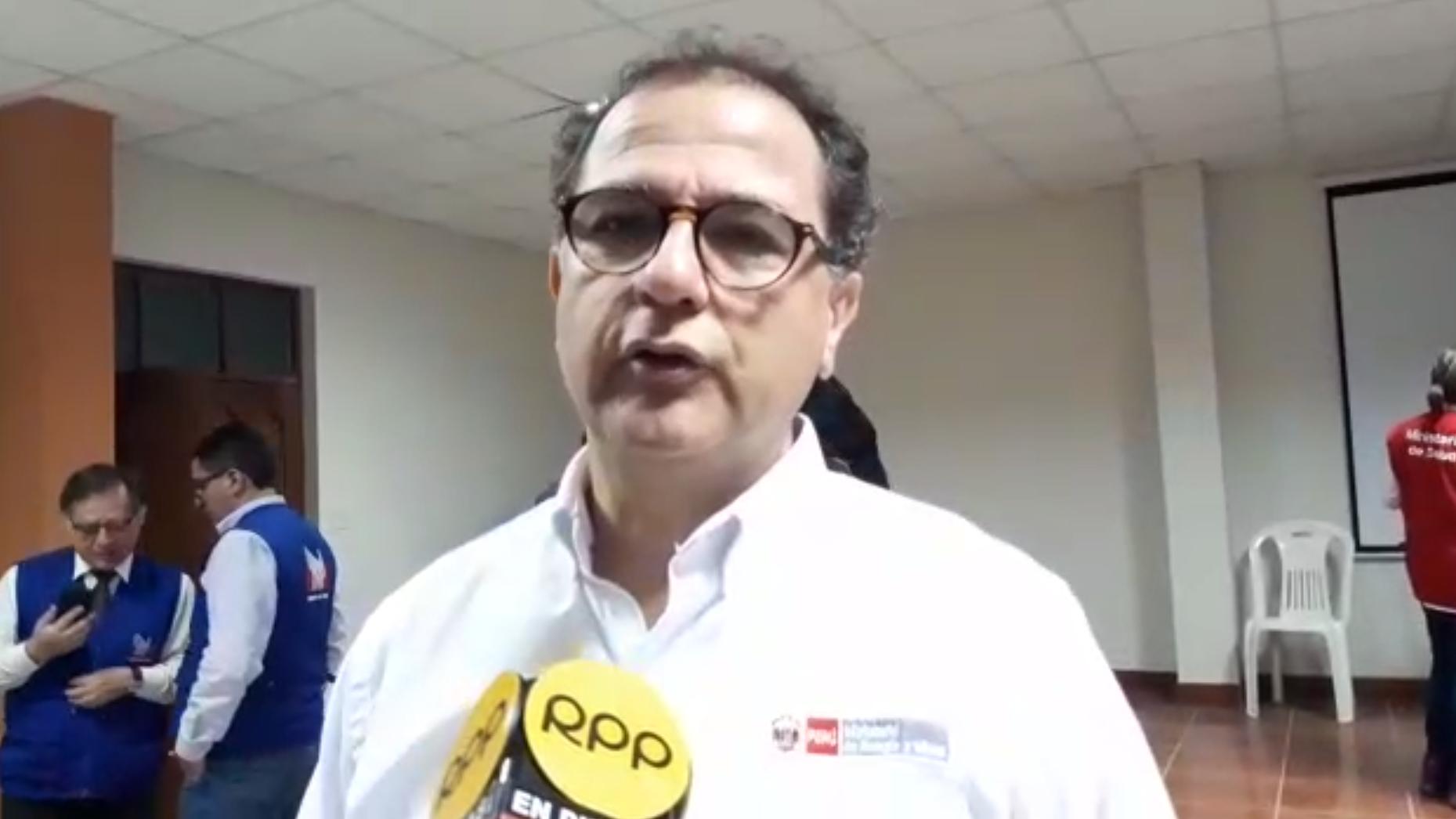 El ministro de Energía y Minas, Francisco Ísmodes, en entrevista con RPP.
