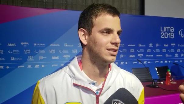 El paradeportista habló sobre los próximos Juegos Parapanamericanos Lima 2019.