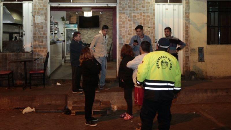 El asalto ocurrió al promediar la 1:00 a.m.