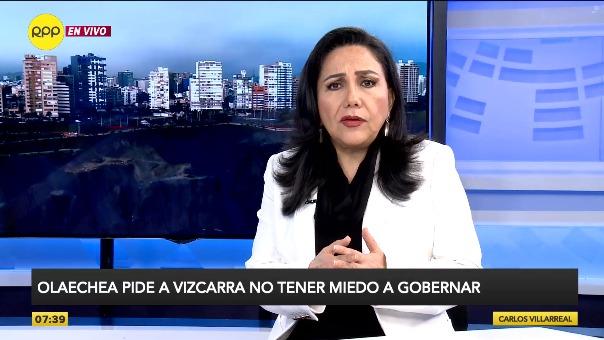 Gloria Montenegro, ministra de la Mujer.