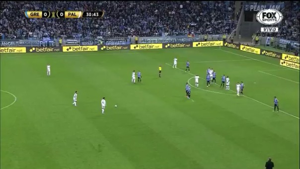 Así fue el gol de Gustavo Scarpa en los cuartos de final de la Copa Libertadores.