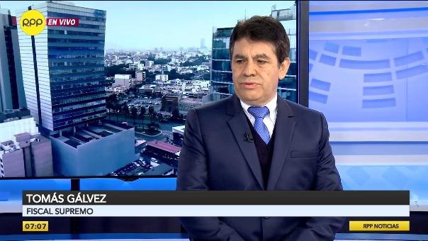 Fiscal supremo Tomás Gálvez tiene impedimento de salida del país.