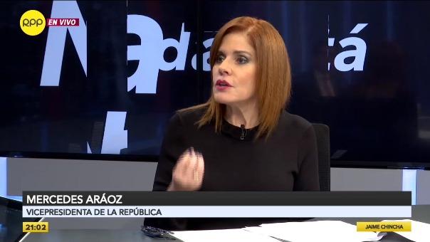 Mercedes Aráoz, congresista y extitular del Gabinete Nacional.