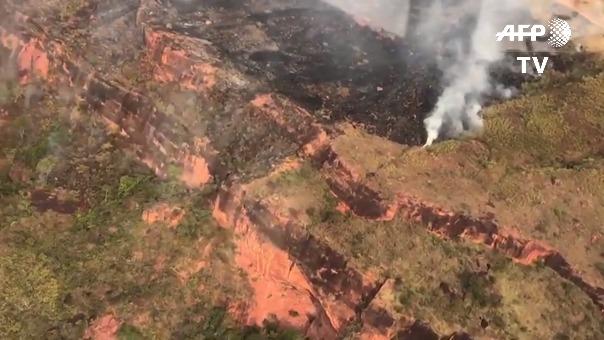 Entre enero y agosto de 2019 se han registrado casi 73.000 focos de incendios forestales en Brasil, 83% más que el año pasado.