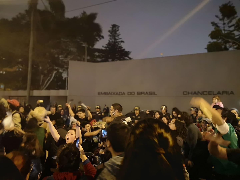 Así fue la protesta en Lima contra Bolsonaro por los incendios en la Amazonía [FOTOS]   galeria