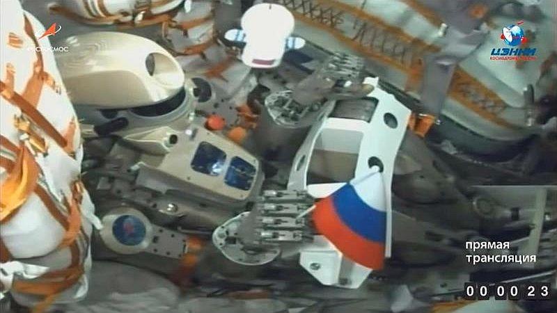 Después de casi 72 horas de tensa espera, la Soyuz se acopló a la EEI.