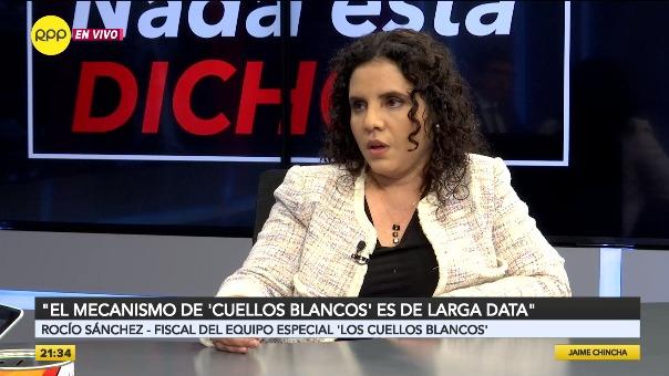 Entrevista con Rocío Saavedra en Nada Está Dicho.