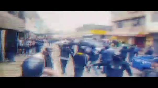 Daniel Urresti captó en video a los perpetradores del ataque.