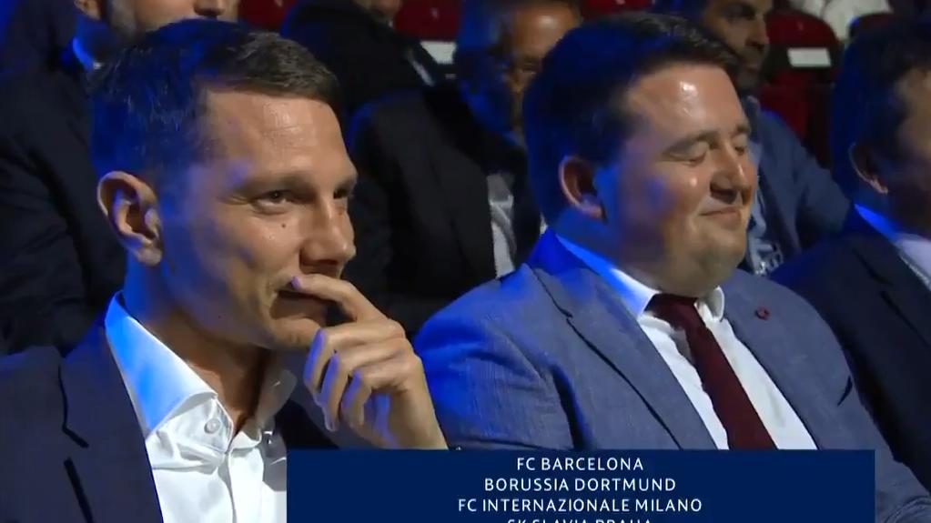 Reacción del directivo de Slavia Praga