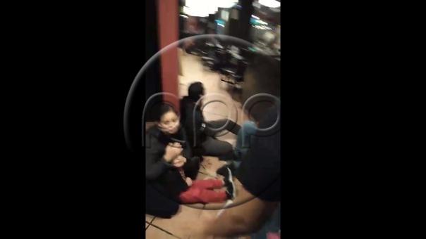 La situación causó pánico entre las personas que se encontraban en el centro comercial.