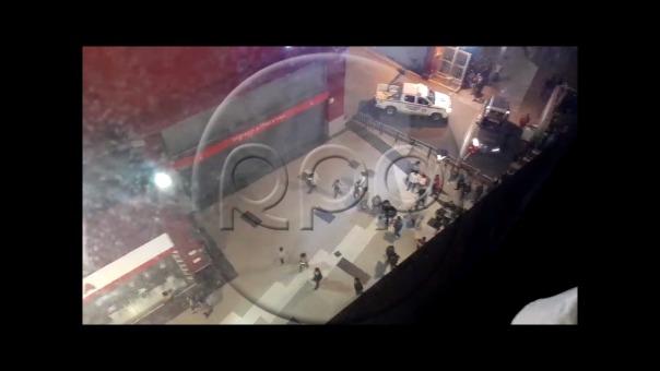 El hecho se produjo dentro del supermercado Plaza Vea.