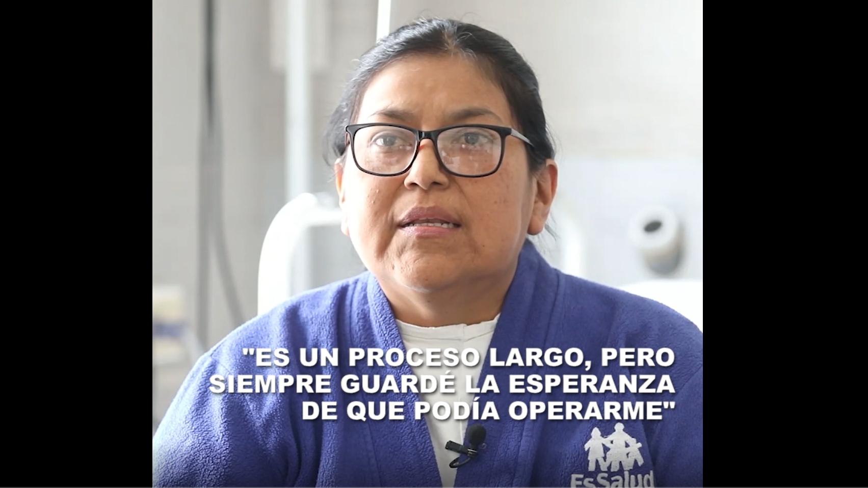 Conoce la historia de Carmen Pacori y cómo un trasplante le cambió la vida.