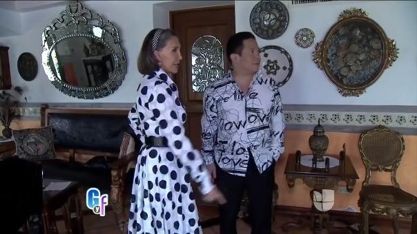 Florinda Meza habla sobre Ramón Valdes en el programa
