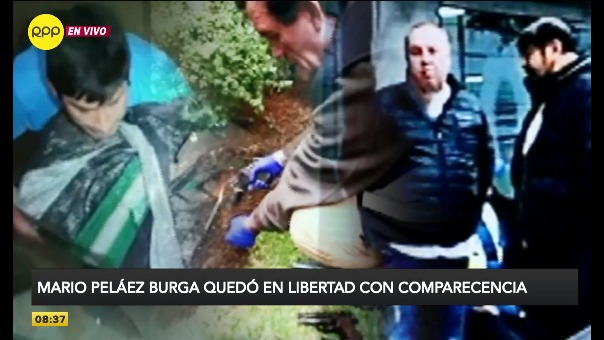 Sobrino de José Antonio Peláez Bardales fue puesto en libertad bajo comparecencia.