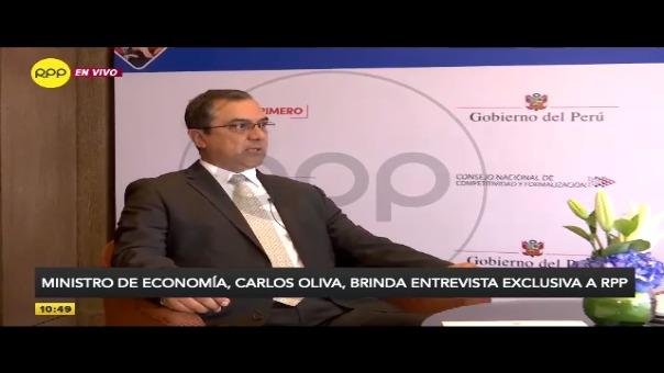 Ministro de Economía, Carlos Oliva afirma que ausencia de incubadoras no es por falta de presupuesto.