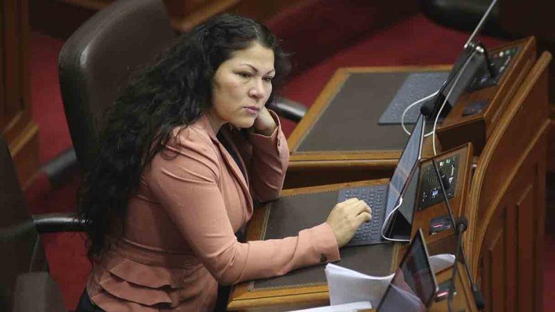 El Pleno rechazó la cuestión previa presentada por Yesenia Ponce para que su caso regrese a la Comisión de Ética para su análisis.