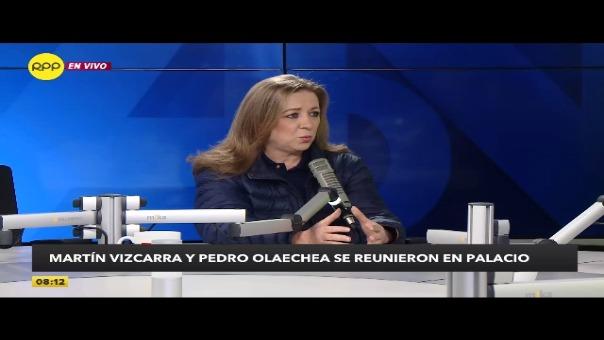 Presidenta de Confiep, María Isabel León descarta que el Plan de Competitividad contemple recortes de derechos laborales