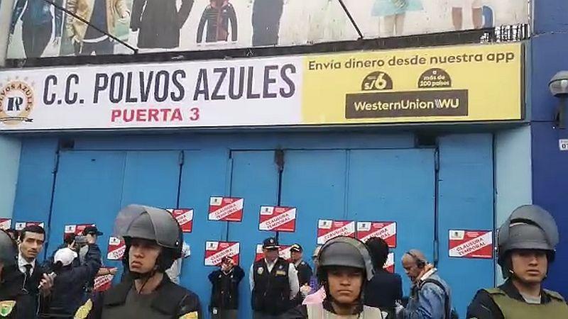 El municipio de La Victoria cerró Polvos Azules en coordinación con la Policía Nacional.